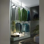 Graphis Light wardrobe door Rimadesio