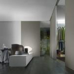 Graphis Light wardrobe door Rimadesio