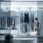 Velaria wardrobe door Rimadesio