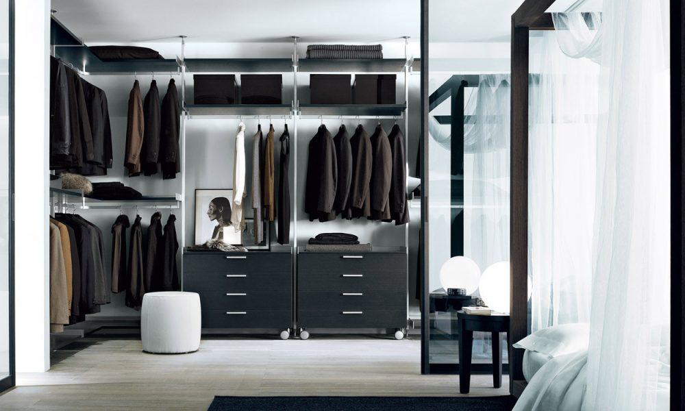 Zenit Walk In Wardrobe Rimadesio
