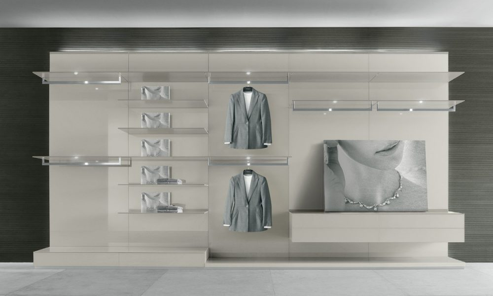 Abacus Walk in Wardrobe Rimadesio