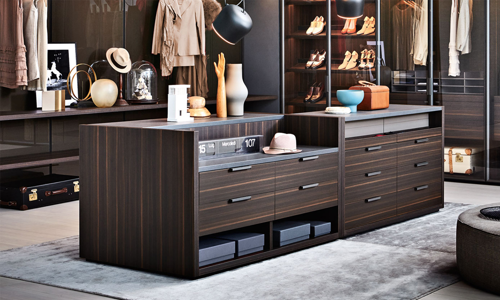 Gliss Master Walk In Wardrobe Molteni & C